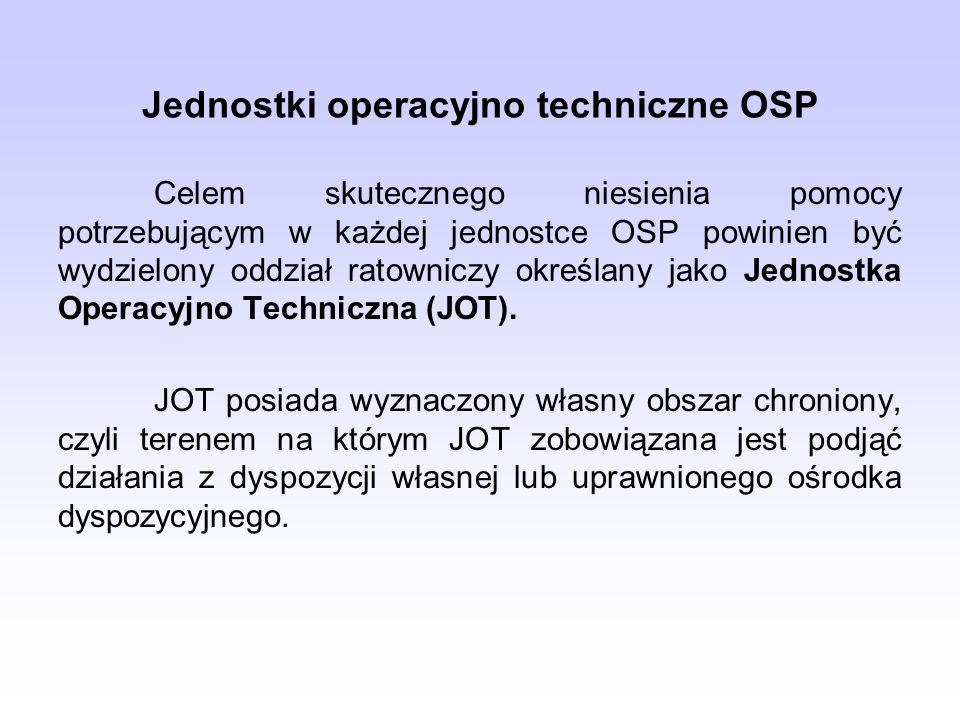 Jednostki operacyjno techniczne OSP