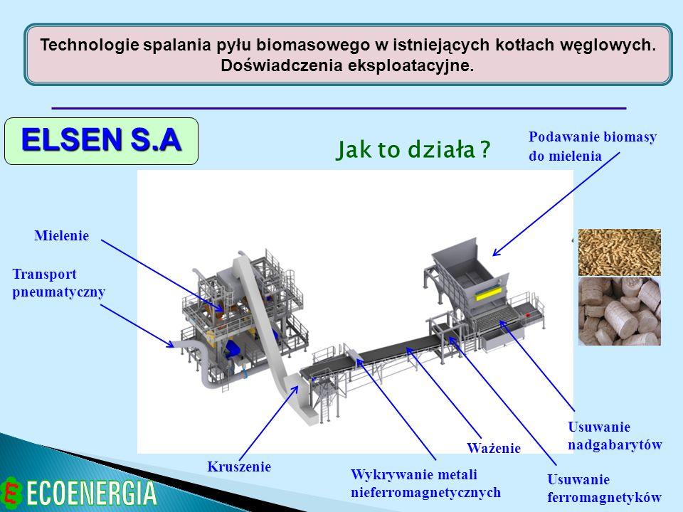 Technologie spalania pyłu biomasowego w istniejących kotłach węglowych