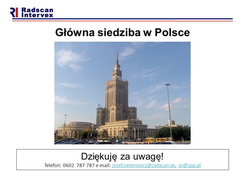 Główna siedziba w Polsce