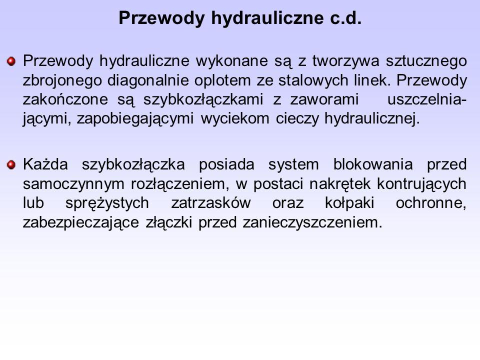 Przewody hydrauliczne c.d.