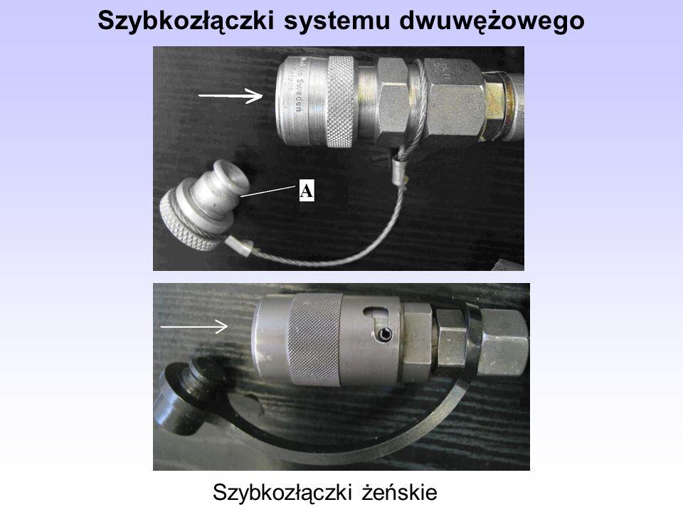 Szybkozłączki systemu dwuwężowego