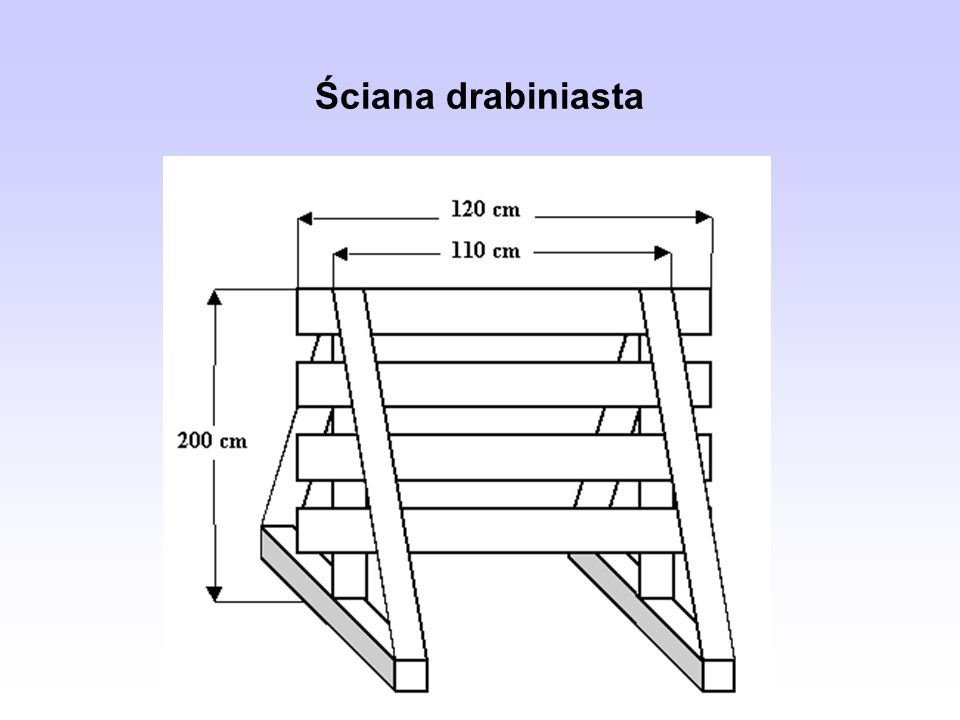 Ściana drabiniasta