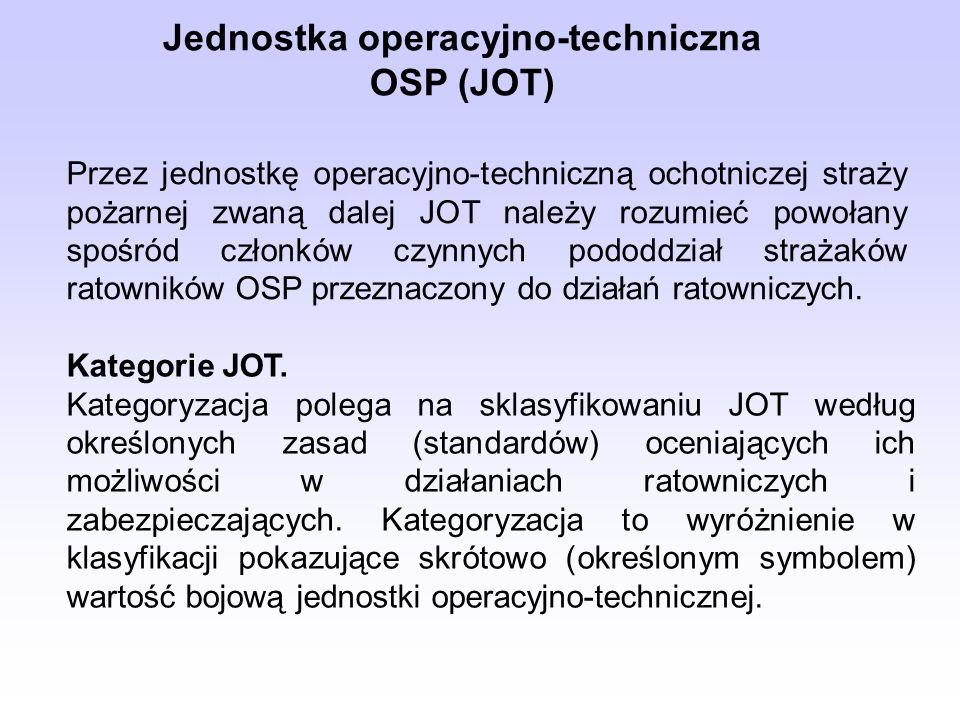 Jednostka operacyjno-techniczna OSP (JOT)