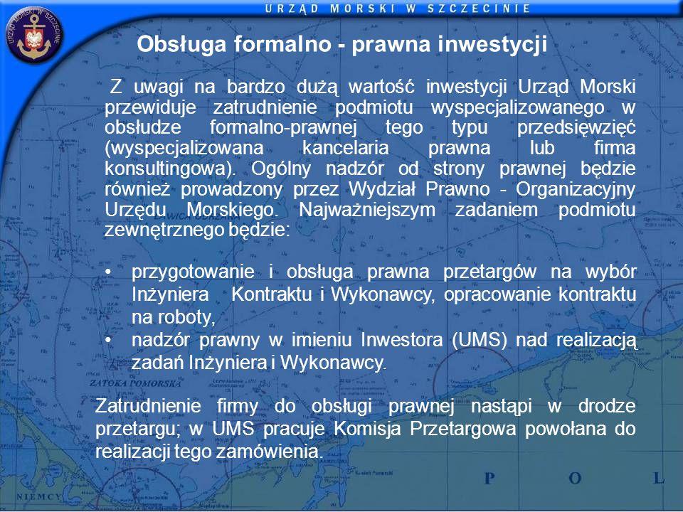 Obsługa formalno - prawna inwestycji