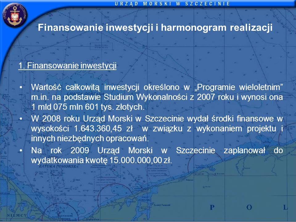 Finansowanie inwestycji i harmonogram realizacji