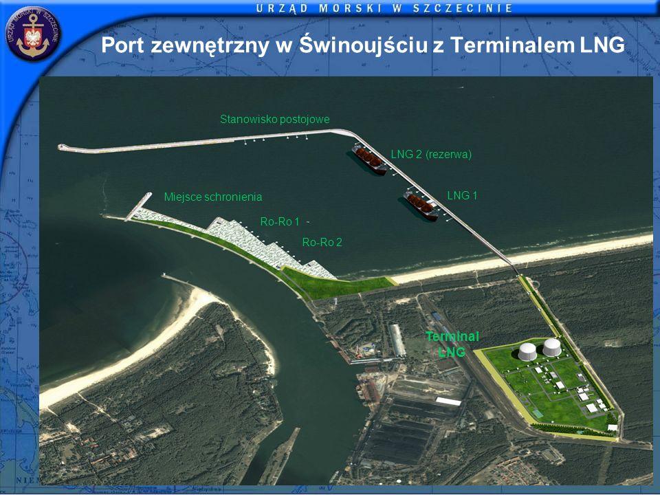 Port zewnętrzny w Świnoujściu z Terminalem LNG