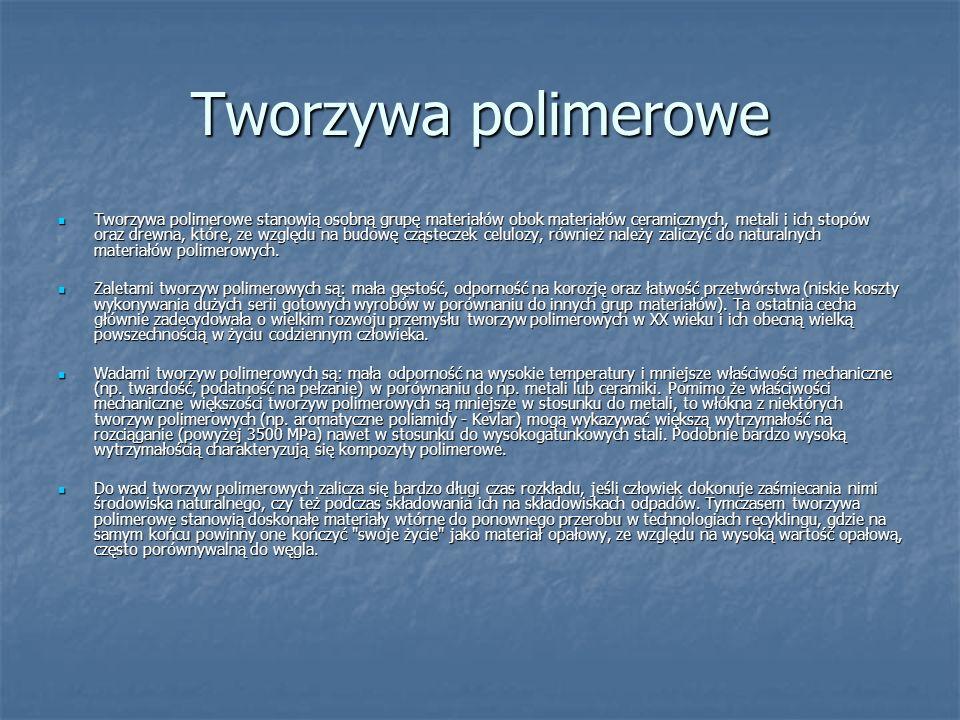 Tworzywa polimerowe