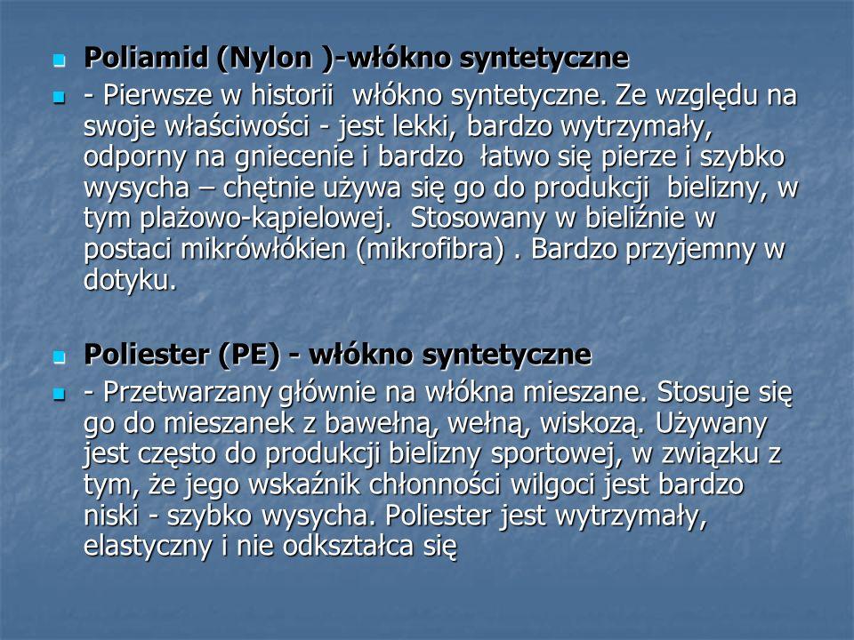 Poliamid (Nylon )-włókno syntetyczne