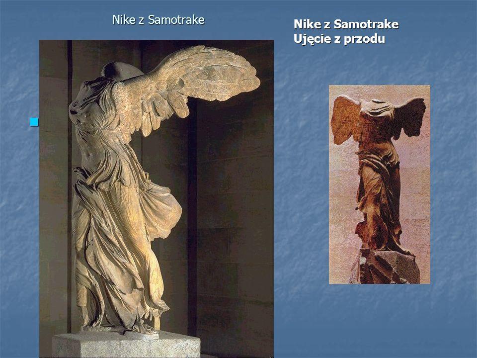 Nike z Samotrake Nike z Samotrake Ujęcie z przodu