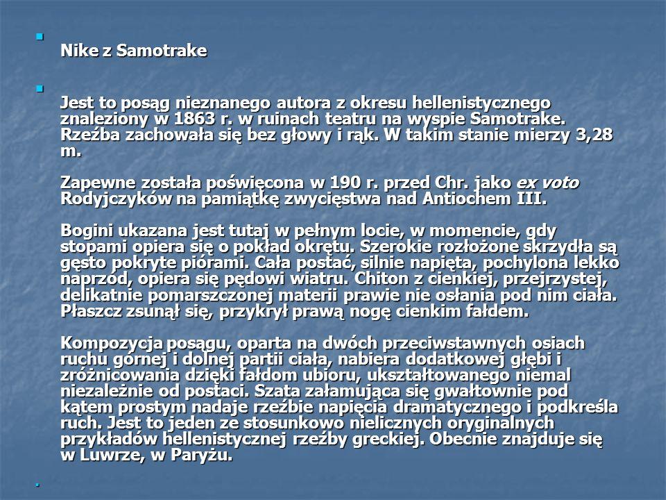Nike z Samotrake