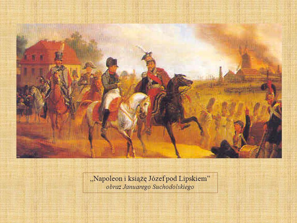 """""""Napoleon i książę Józef pod Lipskiem"""