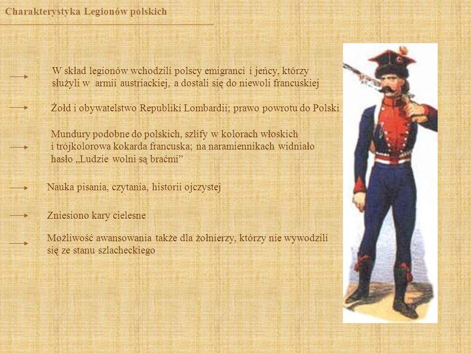 Charakterystyka Legionów polskich