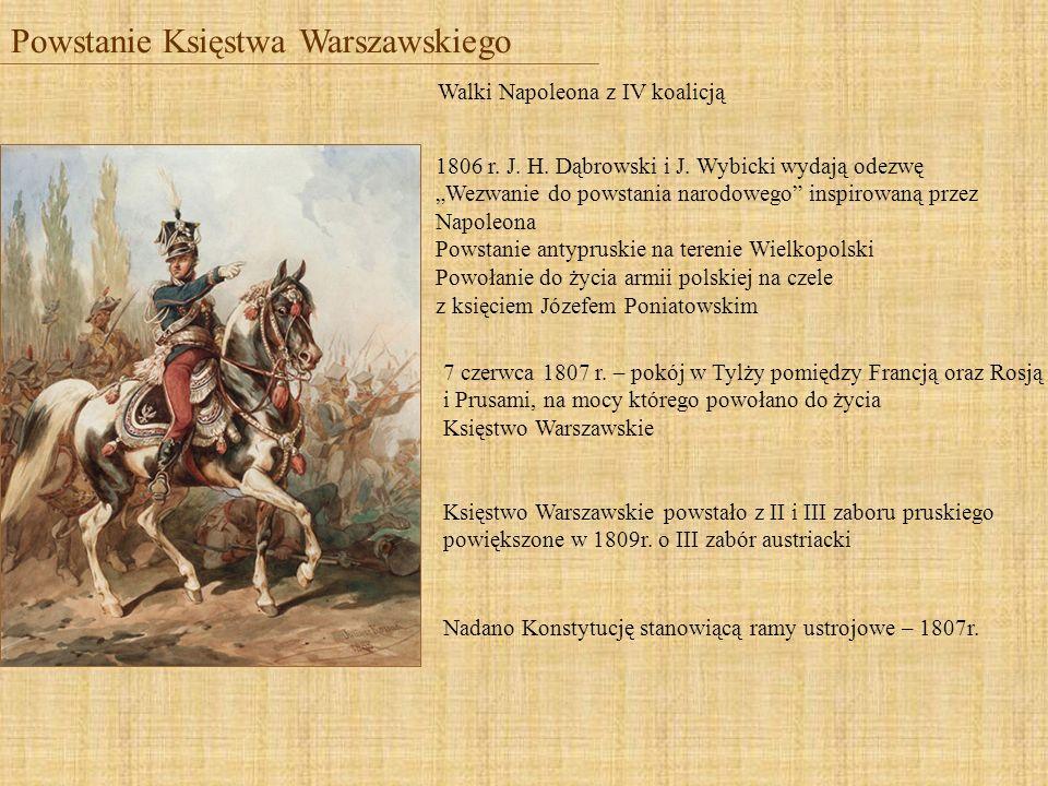 Powstanie Księstwa Warszawskiego