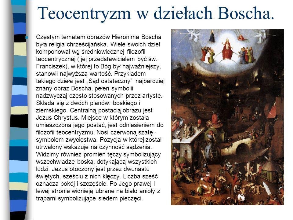 Teocentryzm w dziełach Boscha.