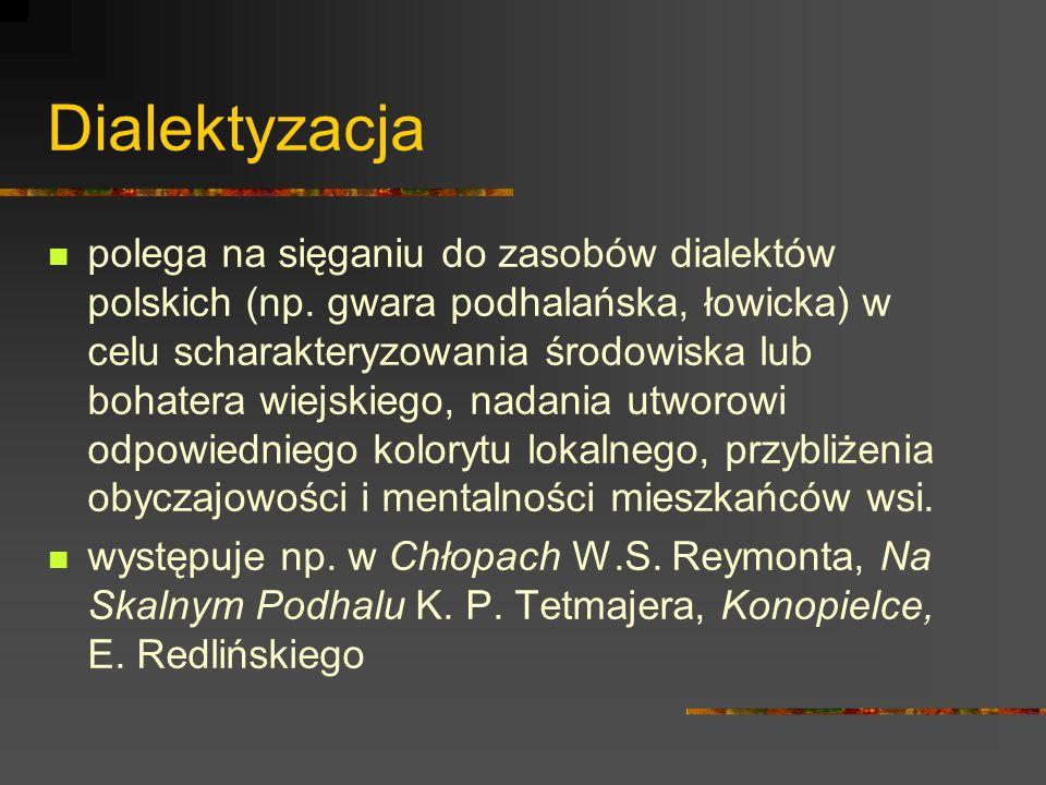 Dialektyzacja