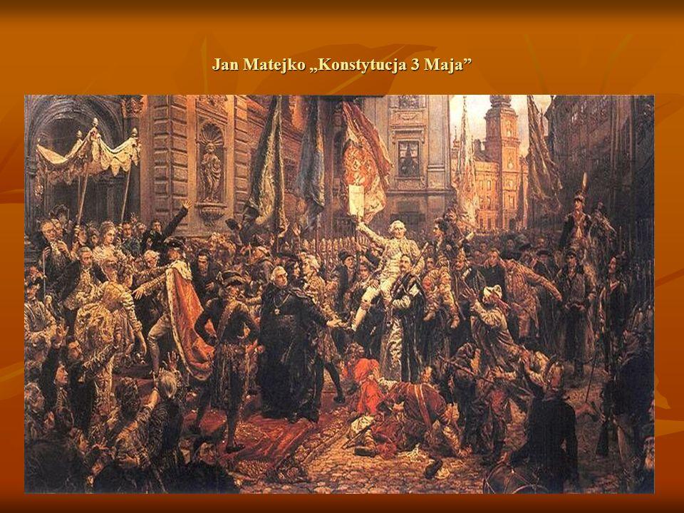 """Jan Matejko """"Konstytucja 3 Maja"""