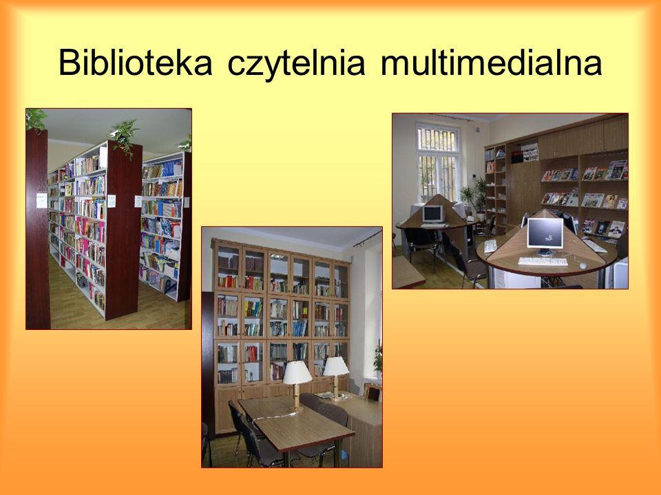 Biblioteka czytelnia multimedialna