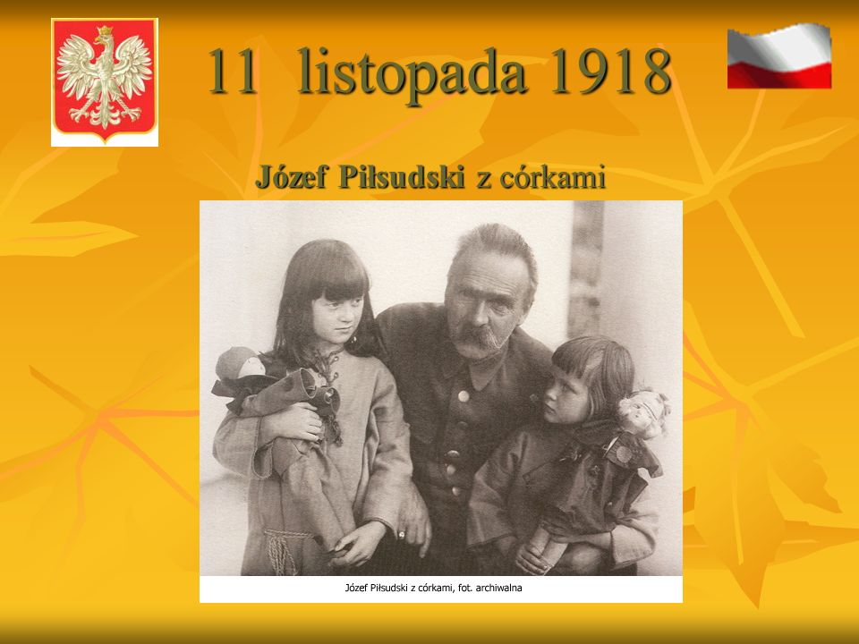 Józef Piłsudski z córkami