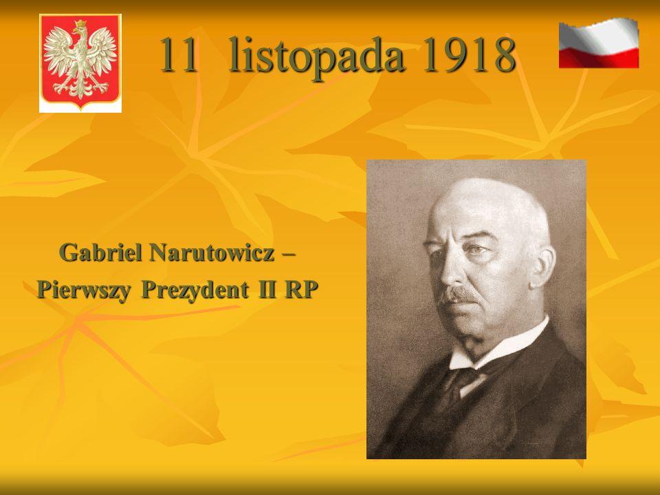 Pierwszy Prezydent II RP
