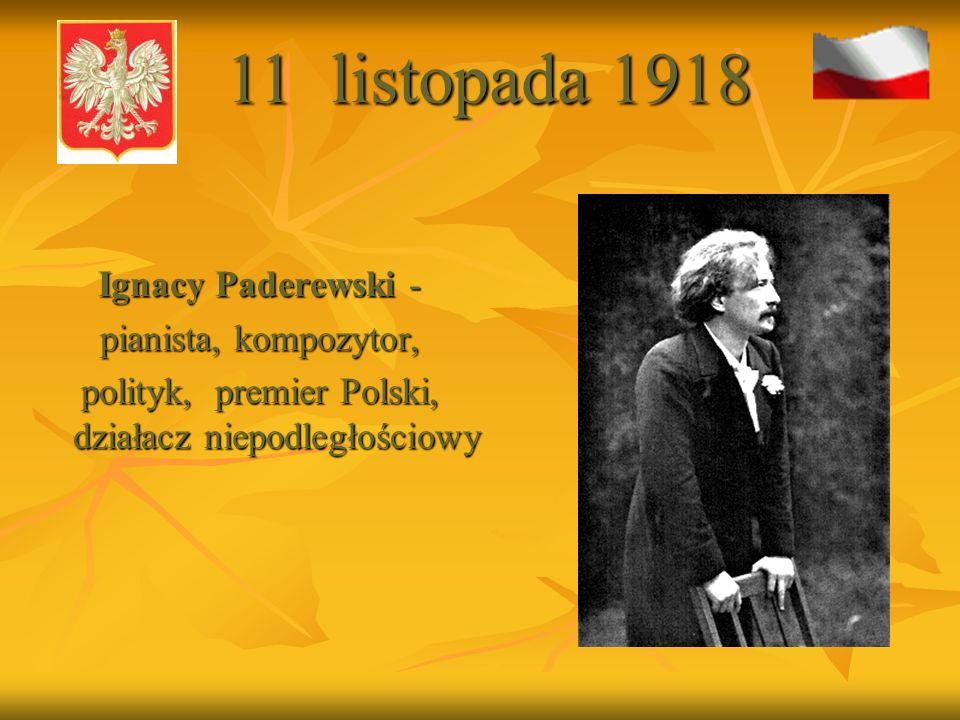 polityk, premier Polski, działacz niepodległościowy