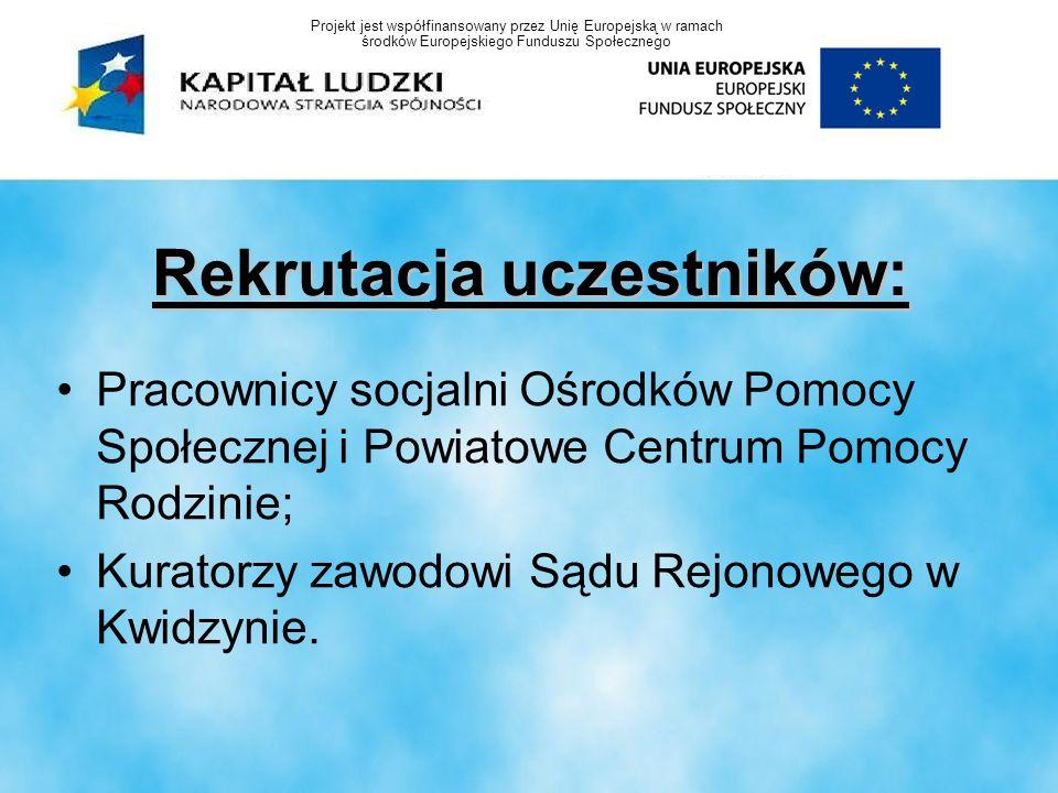 Rekrutacja uczestników: