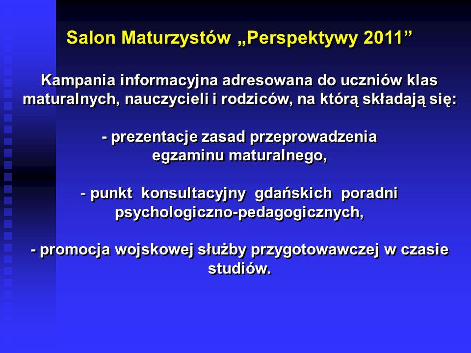 """Salon Maturzystów """"Perspektywy 2011"""