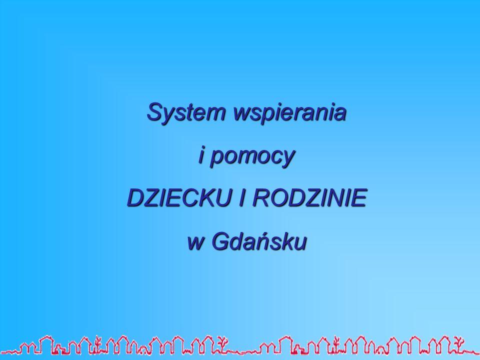 System wspierania i pomocy DZIECKU I RODZINIE w Gdańsku