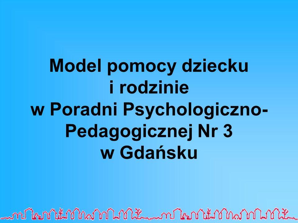 Model pomocy dziecku i rodzinie w Poradni Psychologiczno-Pedagogicznej Nr 3 w Gdańsku