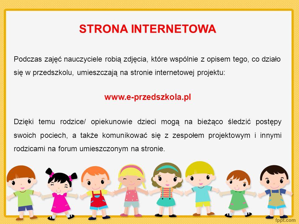 STRONA INTERNETOWA www.e-przedszkola.pl