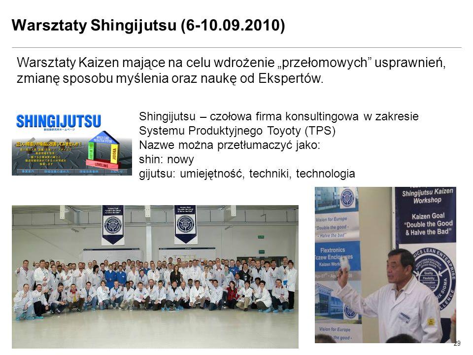 Warsztaty Shingijutsu (6-10.09.2010)