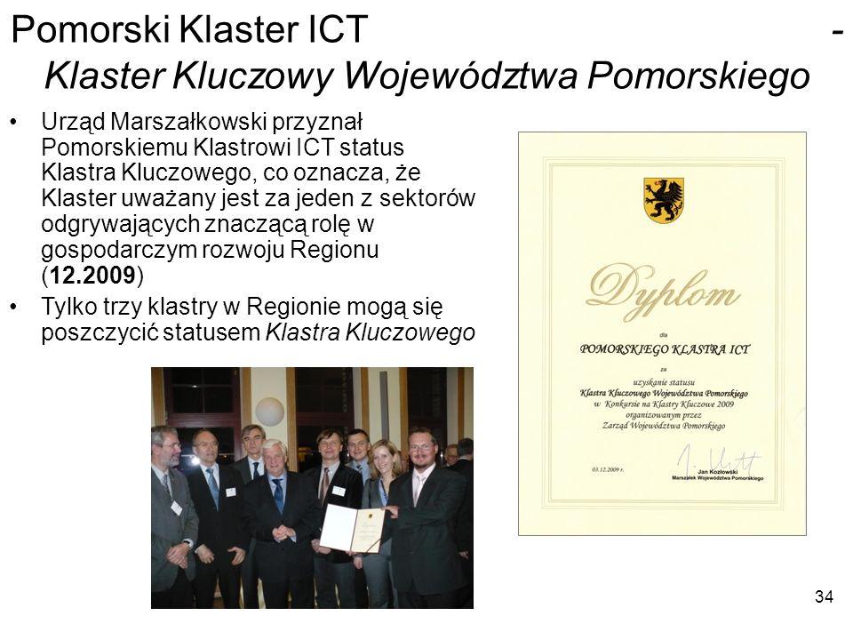 Pomorski Klaster ICT - Klaster Kluczowy Województwa Pomorskiego