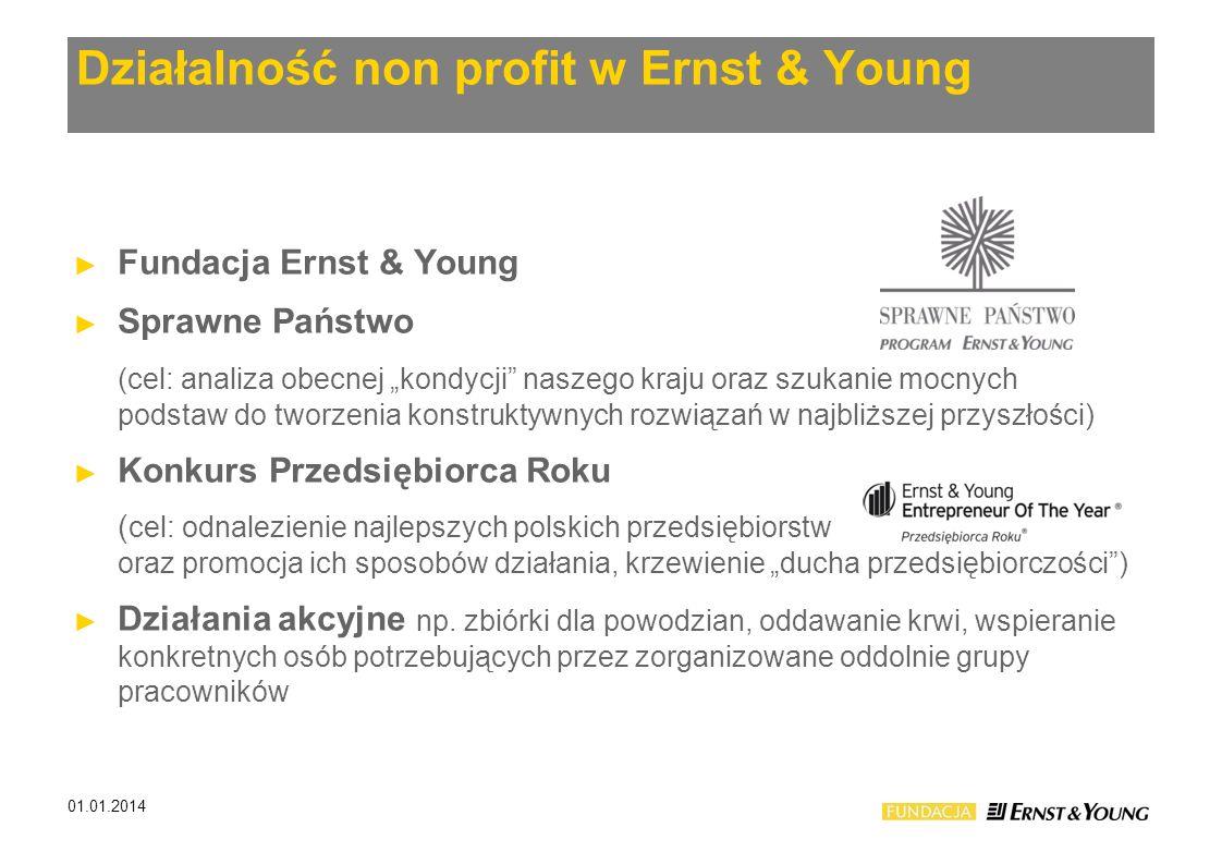 Działalność non profit w Ernst & Young