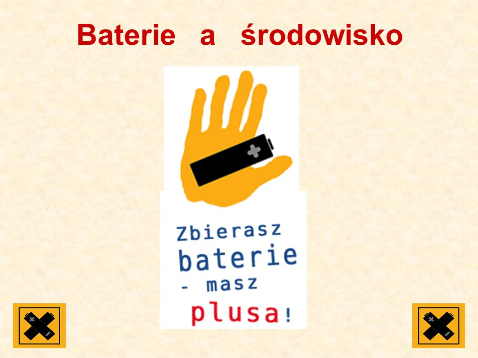 Baterie a środowisko