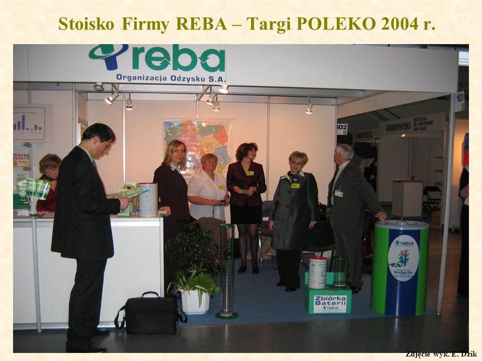 Stoisko Firmy REBA – Targi POLEKO 2004 r.