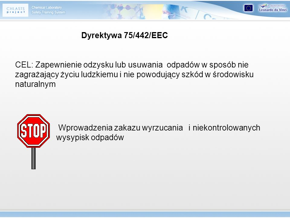 Dyrektywa 75/442/EEC