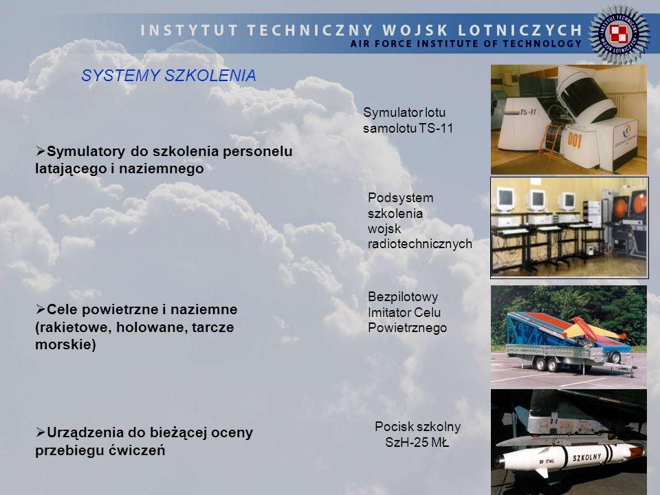 SYSTEMY SZKOLENIA Symulator lotu samolotu TS-11. Symulatory do szkolenia personelu latającego i naziemnego.