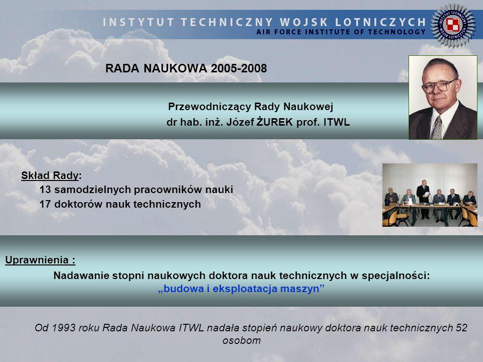 dr hab. inż. Józef ŻUREK prof. ITWL