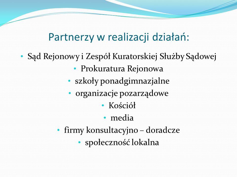 Partnerzy w realizacji działań: