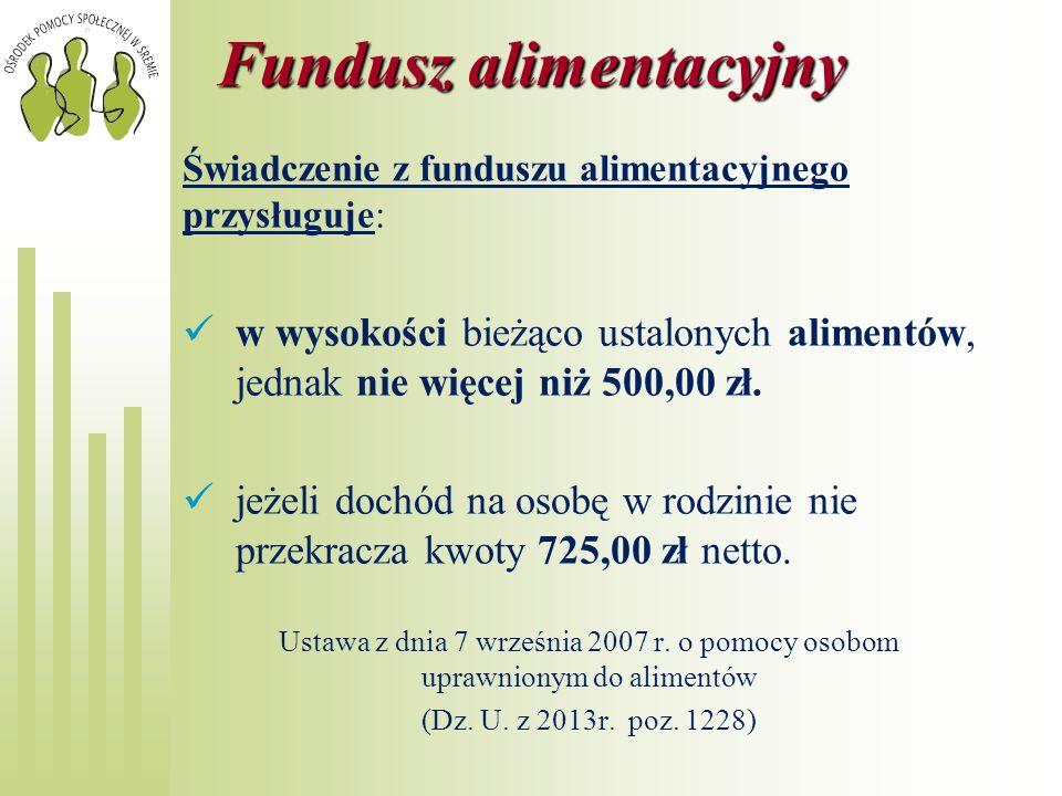 Fundusz alimentacyjny