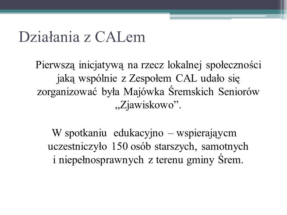 Działania z CALem