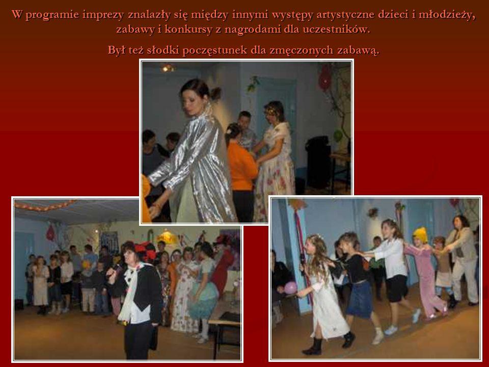 W programie imprezy znalazły się między innymi występy artystyczne dzieci i młodzieży, zabawy i konkursy z nagrodami dla uczestników.