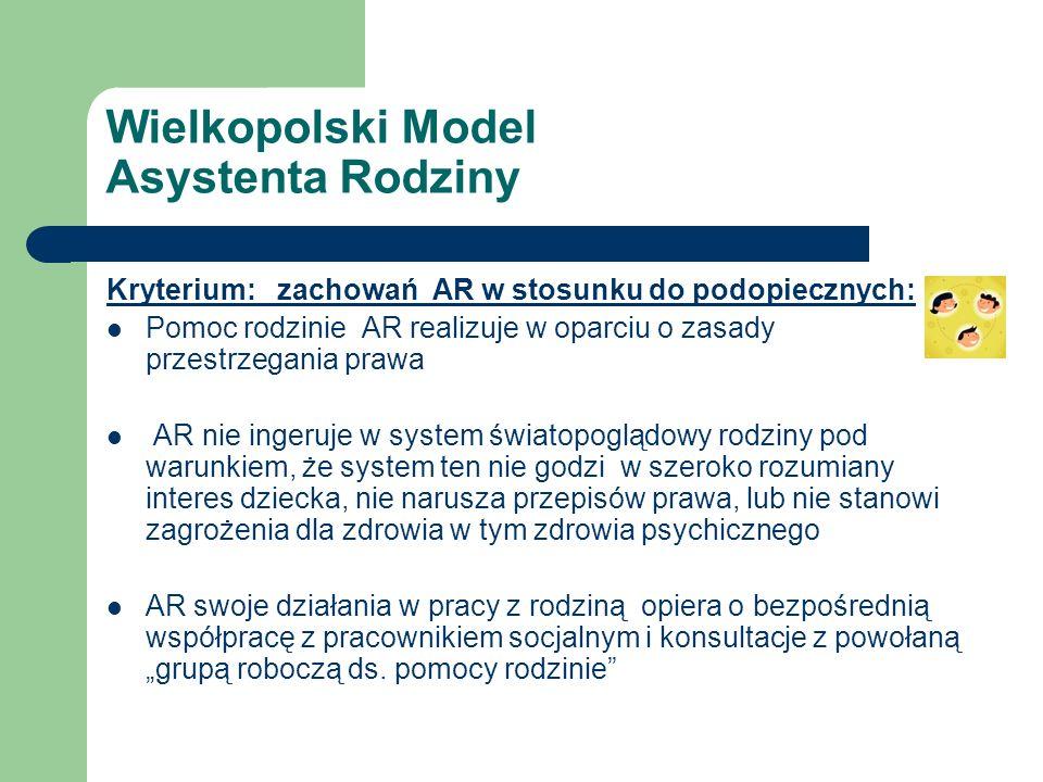 Wielkopolski Model Asystenta Rodziny