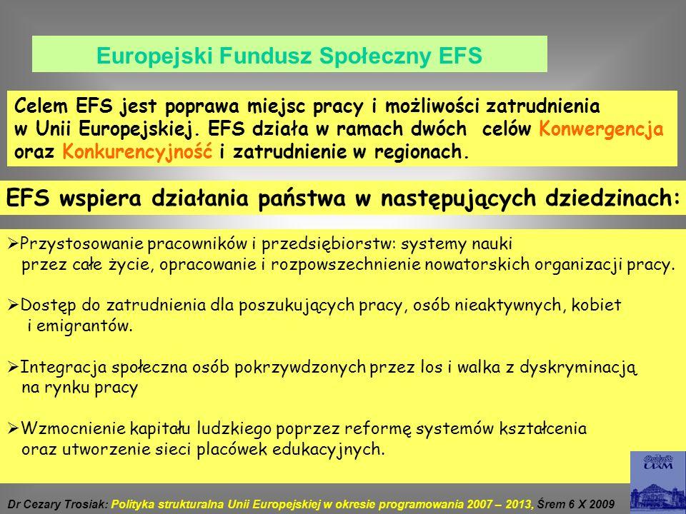 Europejski Fundusz Społeczny EFS