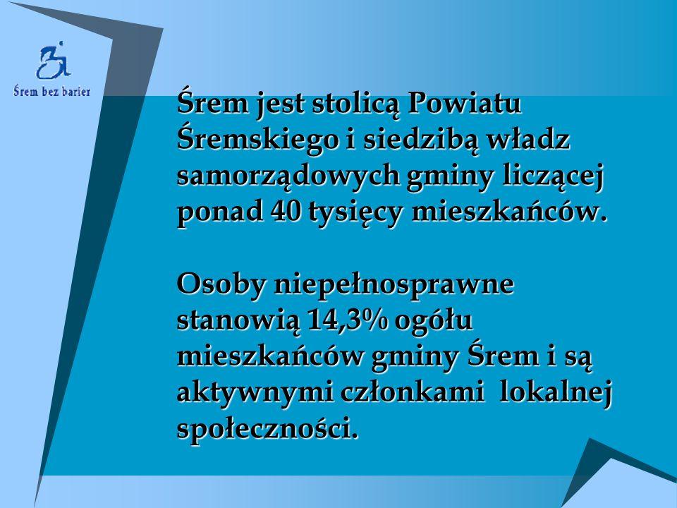 Śrem jest stolicą Powiatu Śremskiego i siedzibą władz samorządowych gminy liczącej ponad 40 tysięcy mieszkańców.