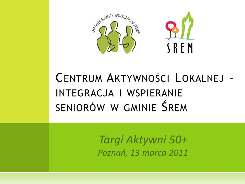 Targi Aktywni 50+ Poznań, 13 marca 2011