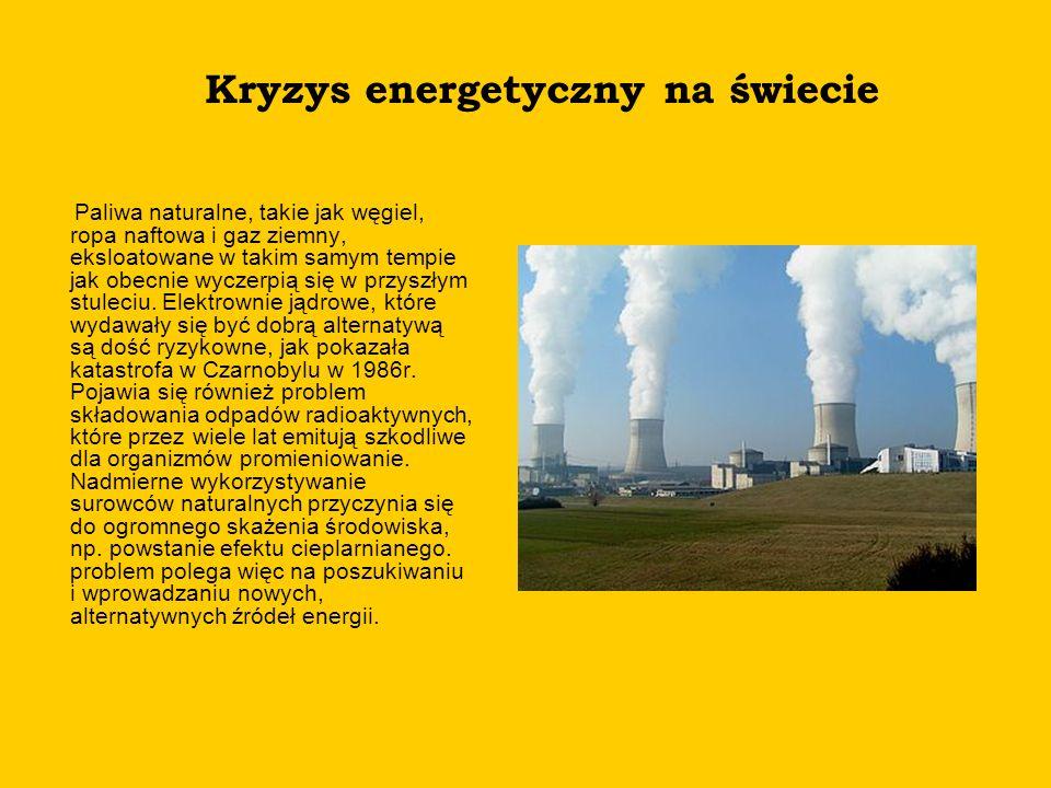 Kryzys energetyczny na świecie