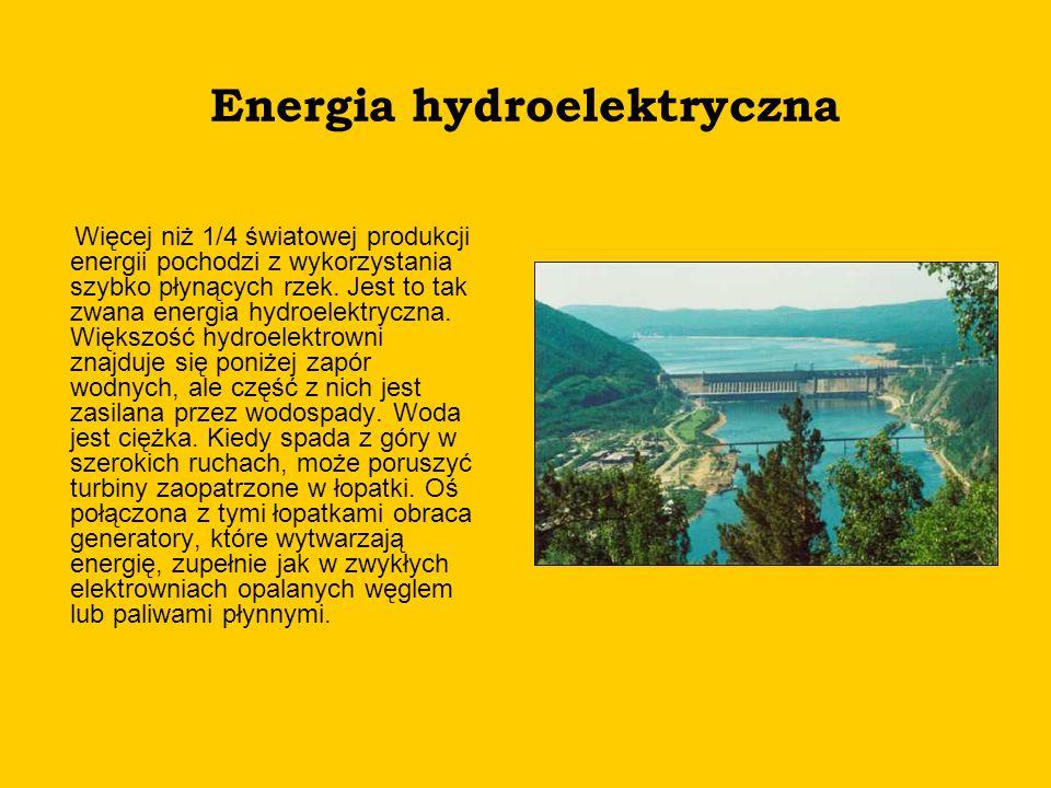 Energia hydroelektryczna