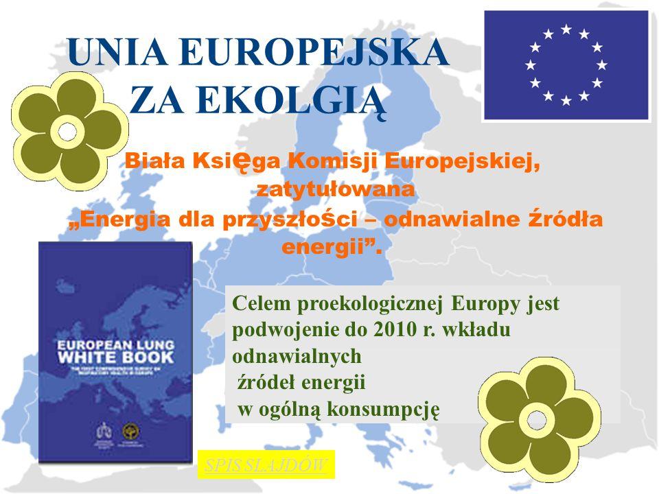 UNIA EUROPEJSKA ZA EKOLGIĄ