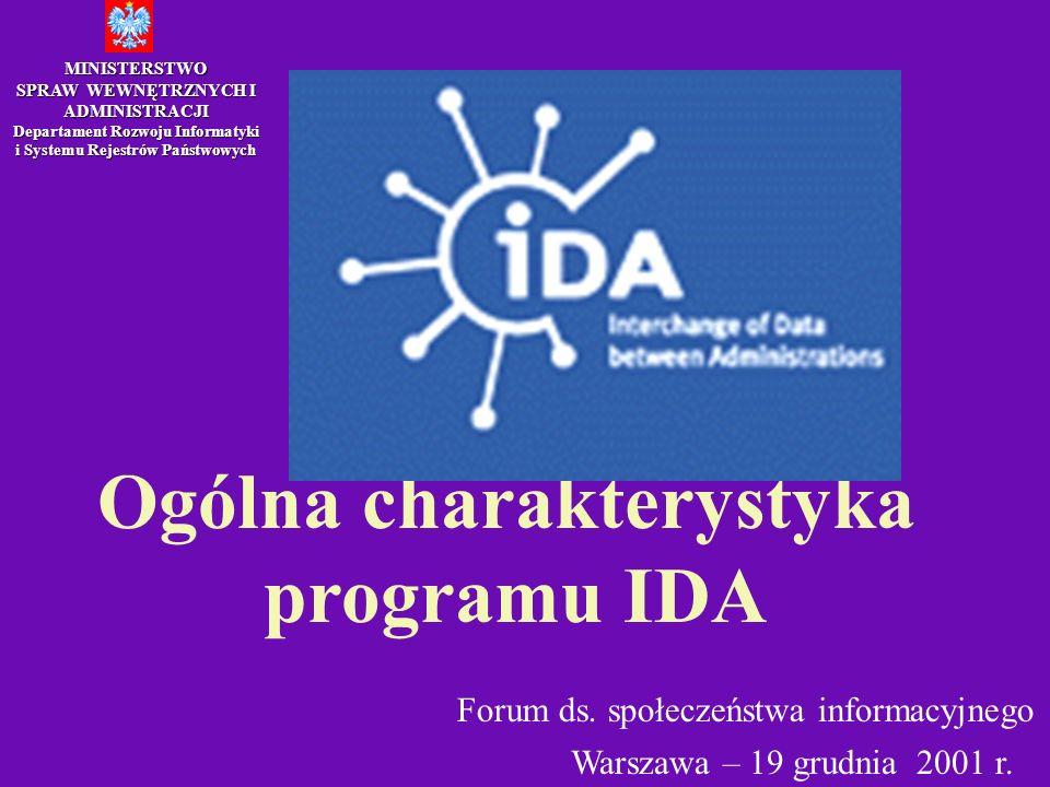 Ogólna charakterystyka programu IDA