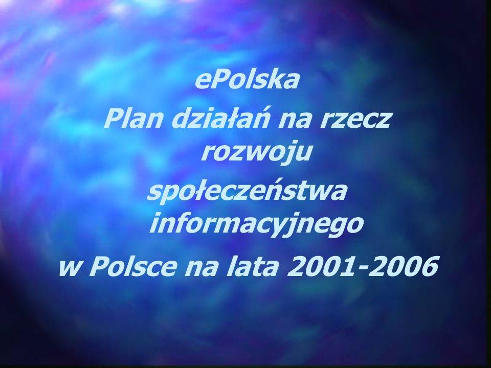 Plan działań na rzecz rozwoju społeczeństwa informacyjnego